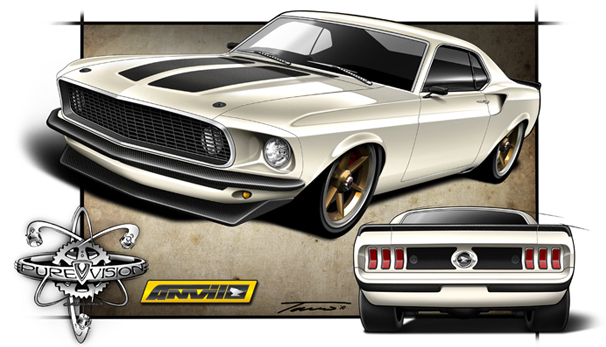 1969 Anvil Mustang from the Movie Fast 6 | This is the actua… | Flickr